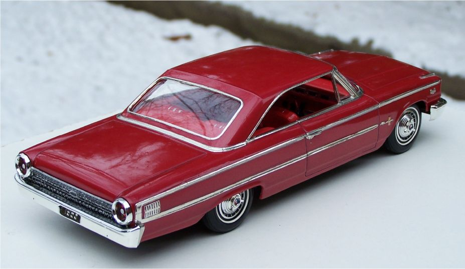 "AMT 1963 Ford Galaxie 500XL 406ci ""Tri-Power"""