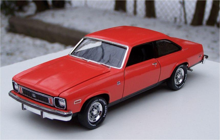 Chevrolet Muscle Car >> AMT 1975 Chevrolet Nova SS 350ci