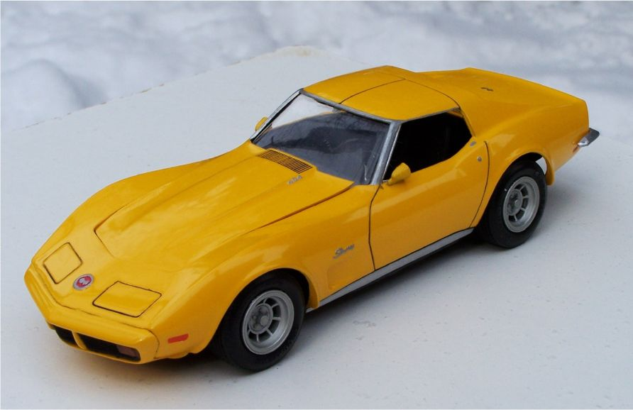 MPC 1973 Chevrolet Corvette Stingray 454ci